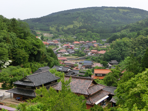 江原塢窪(uvala)與村莊