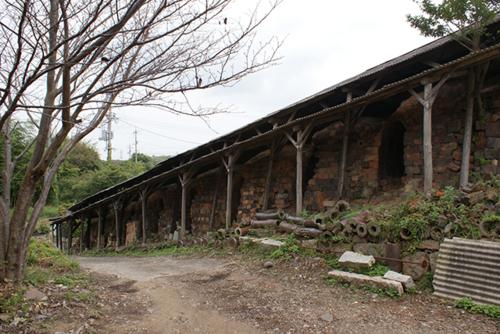 Climbing Kiln in Dan