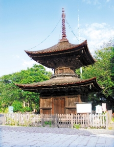 花岡八幡宮・閼伽井坊塔婆(多宝塔)