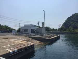 ガマの群生地及び厳島神社参道