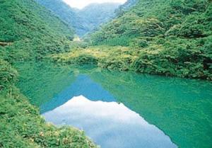 惣郷川橋梁の風景
