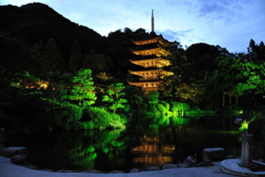 Rurikouji Temple's Five-Storied Pagoda