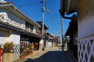 白壁の町並み(阿知須居蔵造)